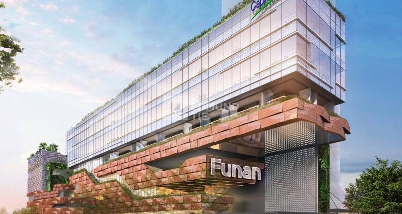 The futuristic local retail scene: Funan Mall